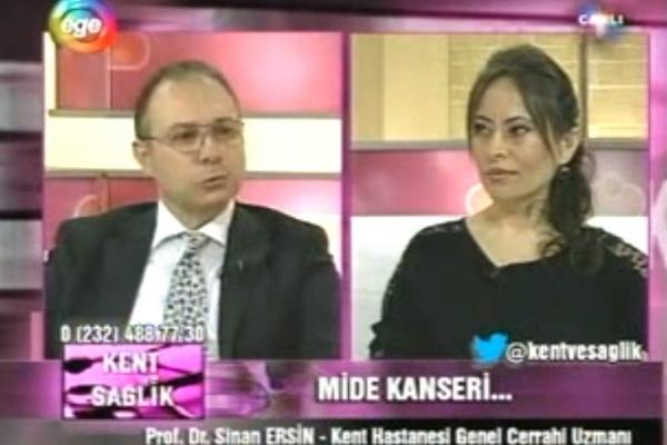 12 Kasım 2012 - Ege TV Kent ve Sağlık Programı Mide Kanseri