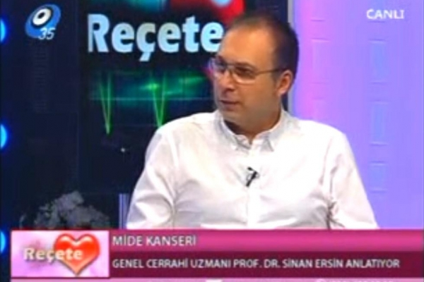 02 Mayıs 2012 Kanal 35 TV - Reçete - Mide Kanser