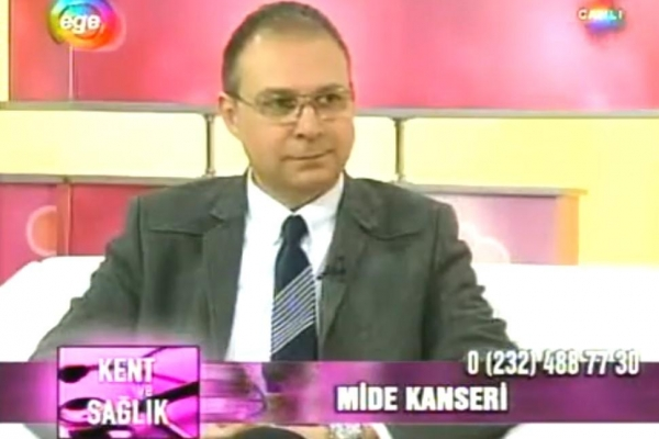 09 Şubat 2012 Ege TV Kent ve Sağlık Programı Mide Kanseri (Bölüm 2)