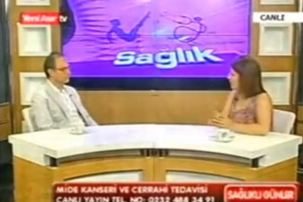 08 Temmuz 2011 - Yeni Asır TV Sağlıklı Günler Programı Mide Kanseri