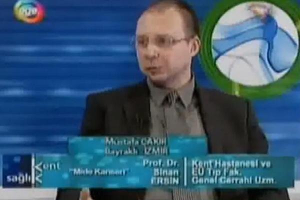 11 Şubat 2009 Ege TV Kent ve Sağlık Programı Mide kanseri (Bölüm 2)