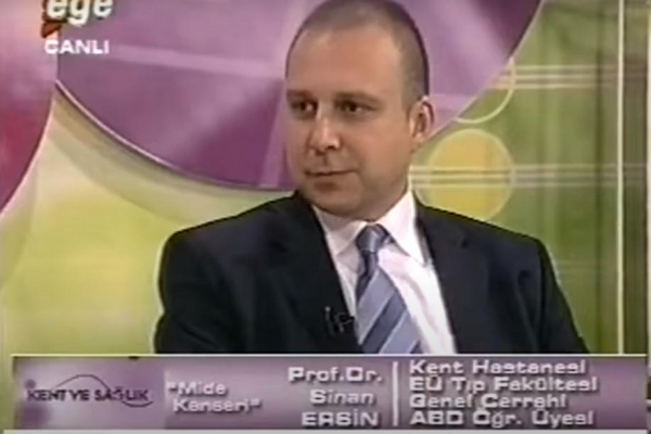 13 Mayıs 2008 Ege TV Kent ve Sağlık Programı Mide Kanseri